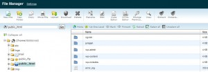 Menggunakan File Manager