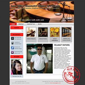 jasa pembuatan personal website di medan