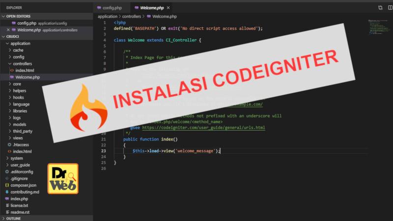 Instalasi-Codeigniter
